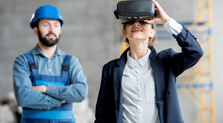 Leading innovation VR glasses in the manufacturing company